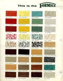 Formica countertops - 1950s