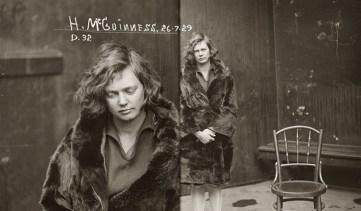Vintage-mugshots-old-criminals-City-of-shadows-exhibition-woman-fur-coat