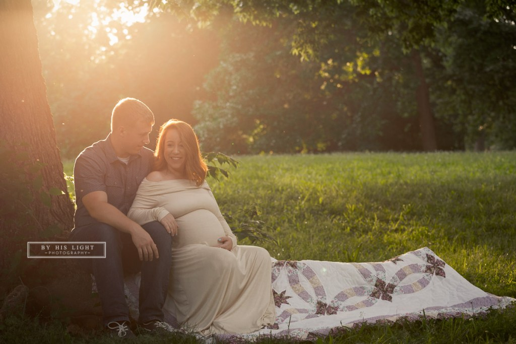 tower grove maternity session