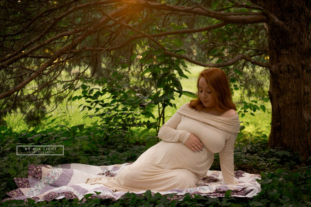 Tower Grove Park maternity session