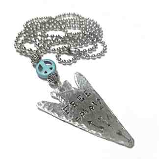 Free Spirit Arrowhead Necklace