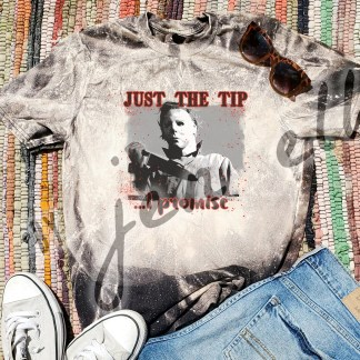 Just The Tip Bleach Tee