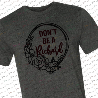 Don't Be a Richard Tee