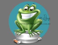 mascote sapo frog personagem character mascot design wacom ipad jlima