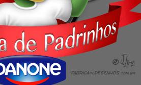 logo design mascot character personagem mascote danone dino danoninho jlima 3d desenho cartum cartoon asas simbolo ilustracao concept arte 2