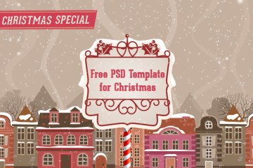 A Special Promotion – Free Download Simple PSD Template For Joomla