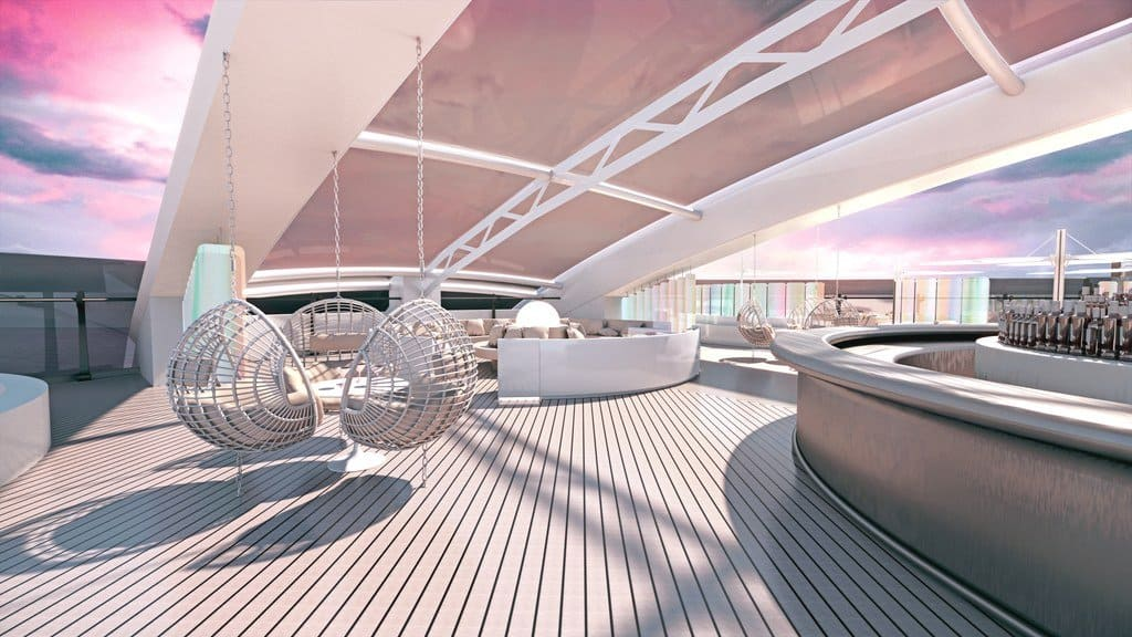 Eco boats: Virgin Voyages