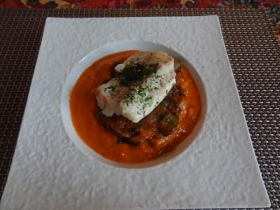 cabillaud quinoa coulis de poivrons1 (1)