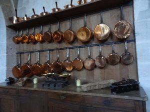 Cuisines de Vaux le Vicomte: mon rêve