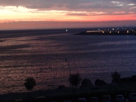 coucher de soleil un matin escala 08 2014