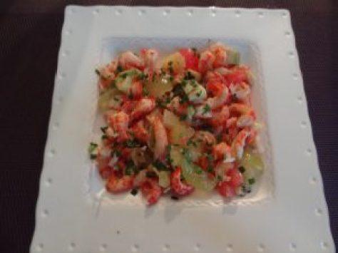 salade fruitée d'écrevisses 1
