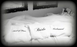 Custom Bridal Robes