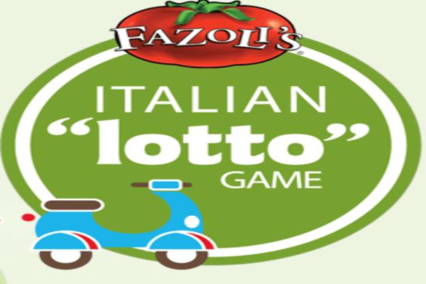 Coca-Cola/Fazoli's Italian Lotto