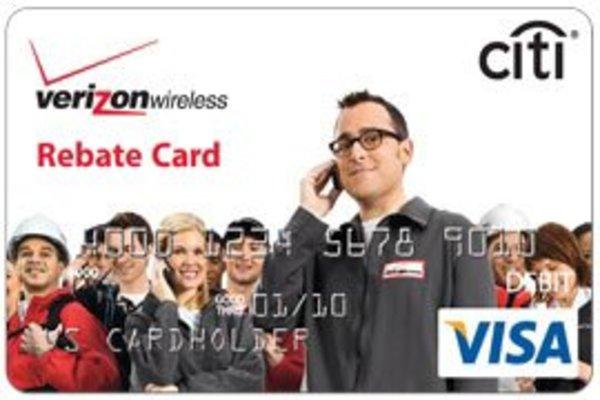 Activate Verizon Wireless Citi Prepaid Rebate Cards