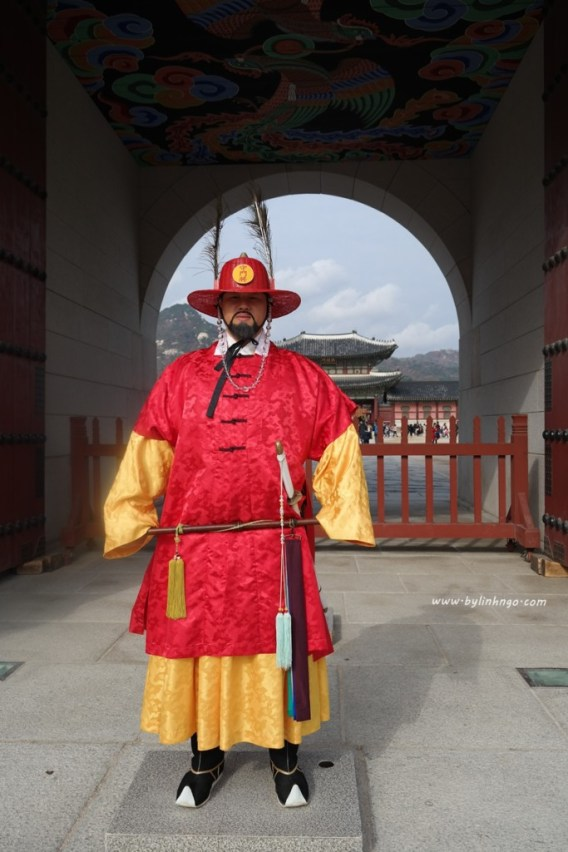 Royal Guard at Gyeongbokgung
