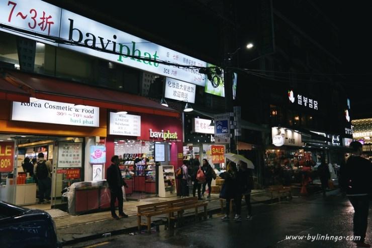 Baviphat ở Ehwa University