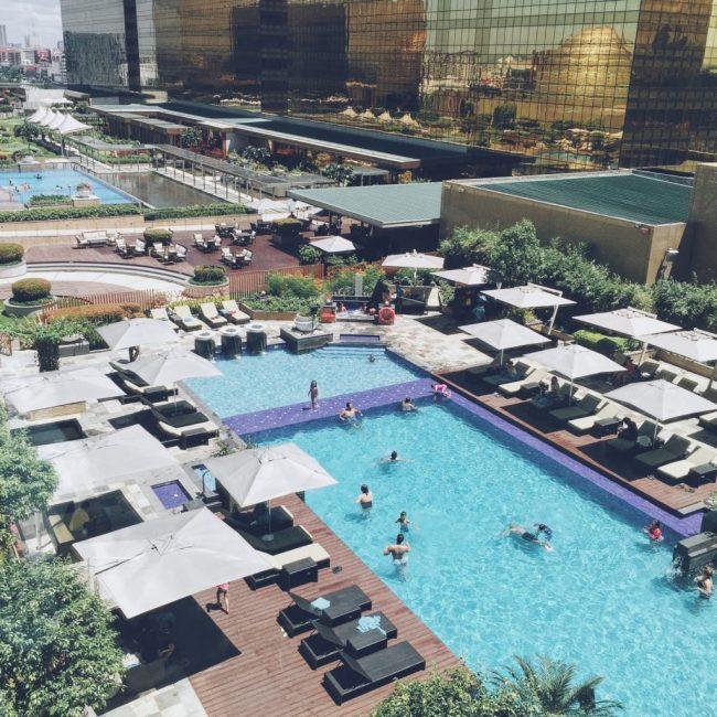 Bể bơi của Hyatt City of Dreams Manila