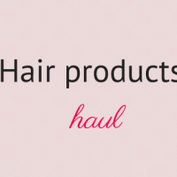 Hair products haul - November 2015