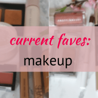 full face beat using my current favourite makeup products