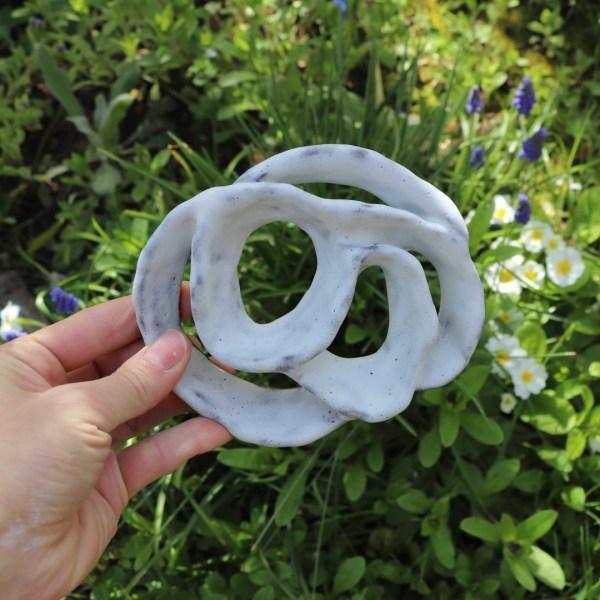 Pique Fleurs blanc