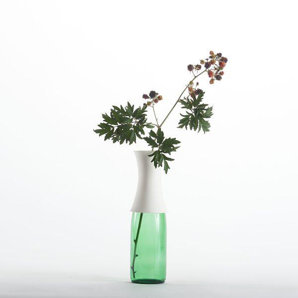 col en porcelaine pour fabriquer son vase