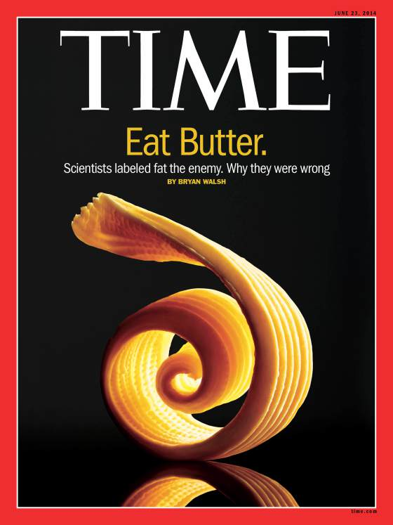 Butter on the cover of Time Magazine