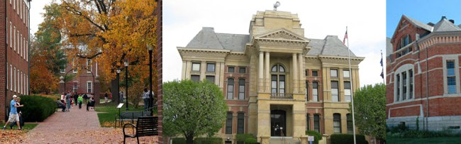 Crawfordsville Indiana Bankruptcy Office Town Pictures