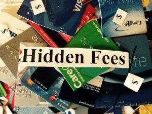 Photo of credit cards with hidden dollar signs