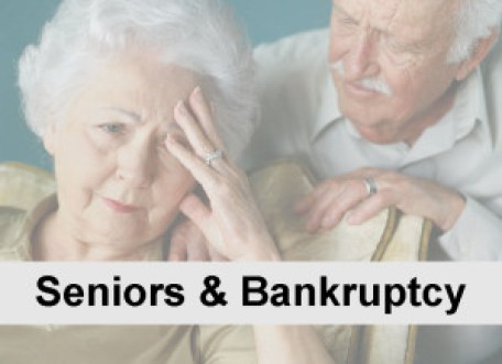 Image of Elderly Couple stressed out about finances