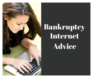 Bankruptcy Internet Advice