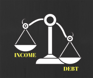 Debt to income ratio and bankruptcy