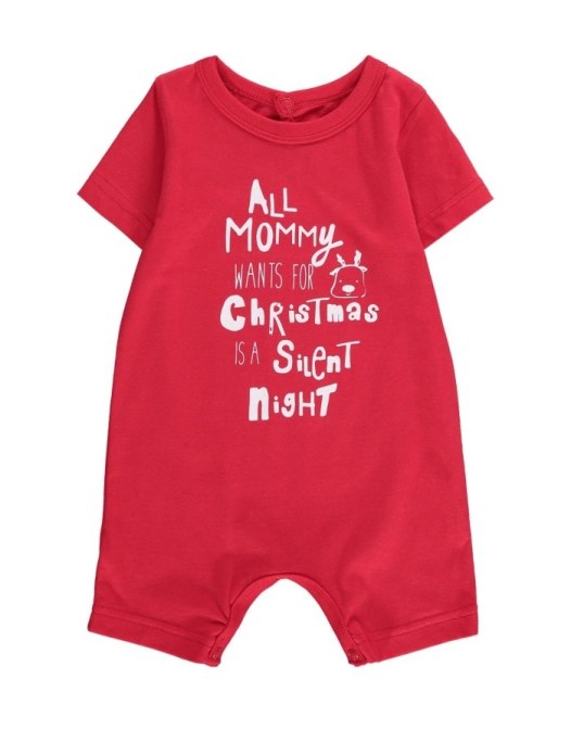 Woolworths Silent Night Cotton Christmas Romper R59