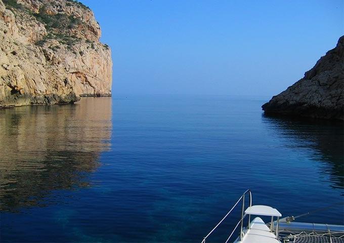 Viaje de vacaciones en velero a Ibiza y Formentera - Portixol