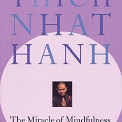 The Miracle of Mindfulness book cover.