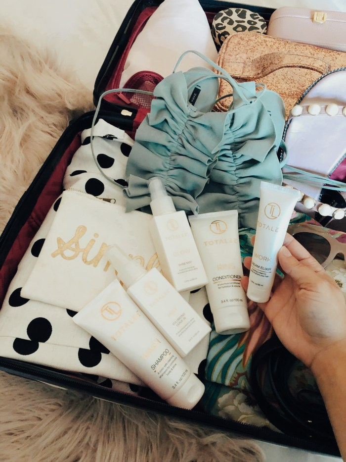 My Summer Travel Essentials with TOTALEE