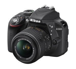 NikonD3300 24.2MP DSLR Camera Bundle with 12 attachments including a 52mm filter Kit