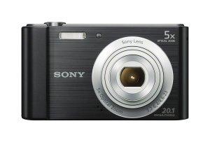 Sony W800B 20.1 MP Digital Camera (Black)