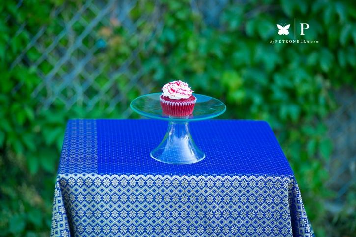 Tops Diner Red Velvet cupcake (2)