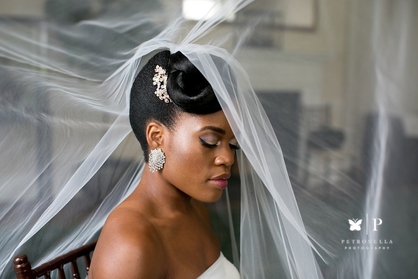Khamit Kinks natural bride at The India House New York Petronella Photography