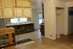 Before Picture, Kitchen Remodel