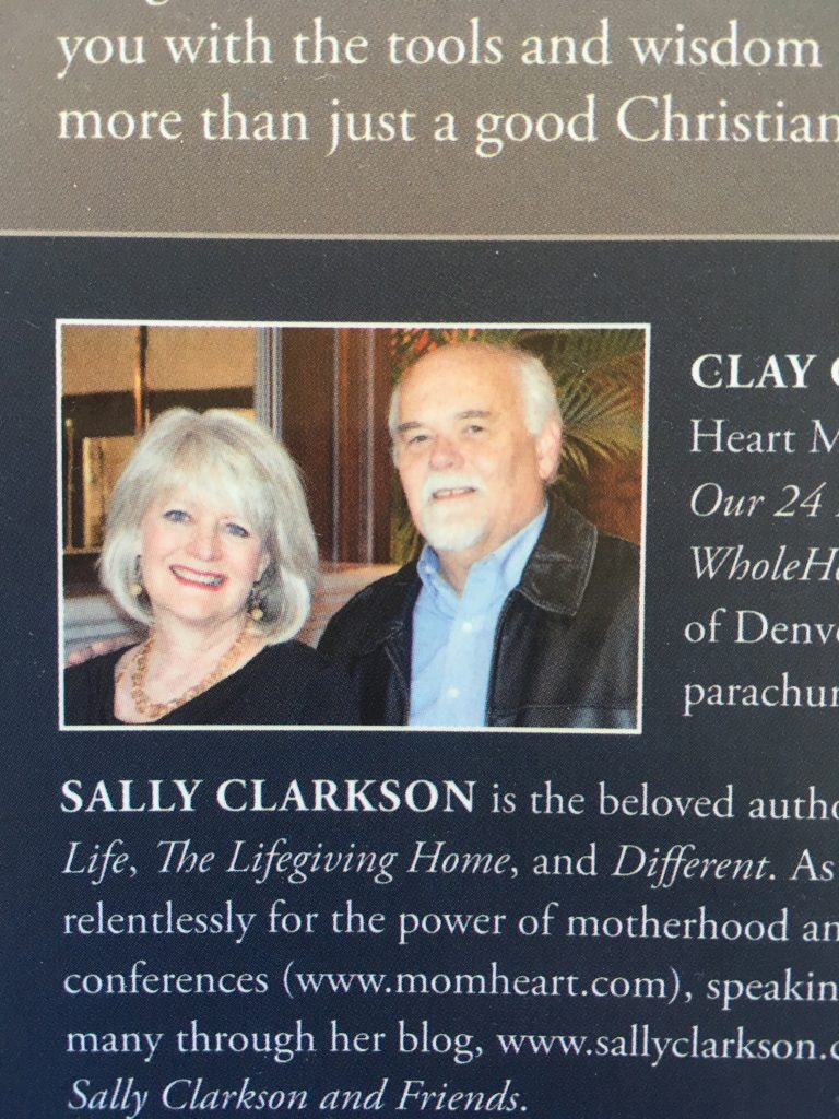 Clay and Sally Clarkson
