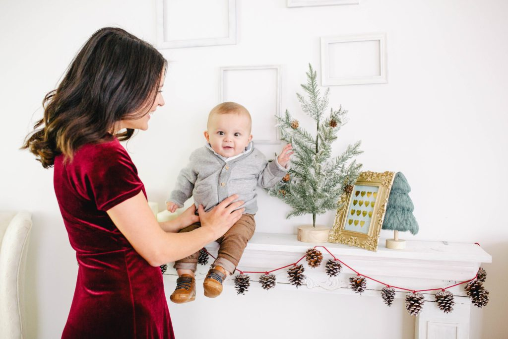 Mom & Baby Holiday Outfit Ideas