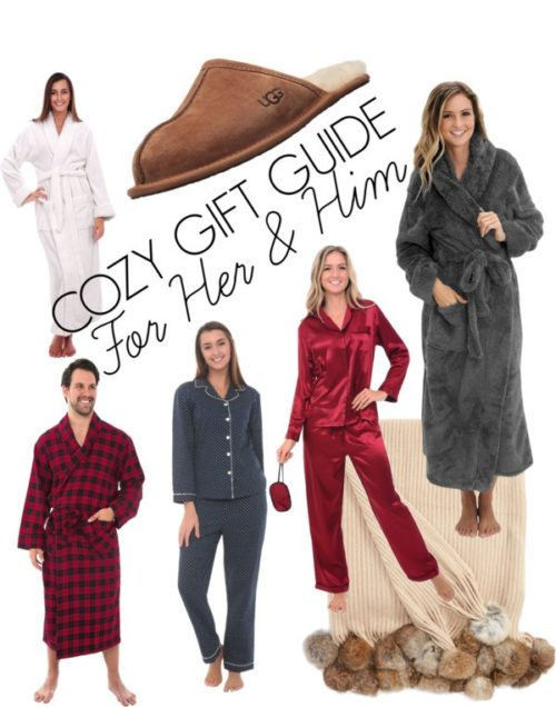 Cozy Gift Guide for Her & Him with Alexander Del Rossa