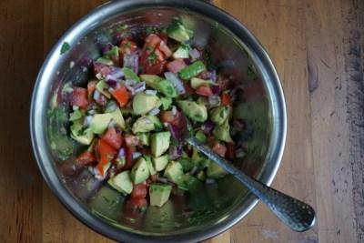 Bowl of Avocado Salsa