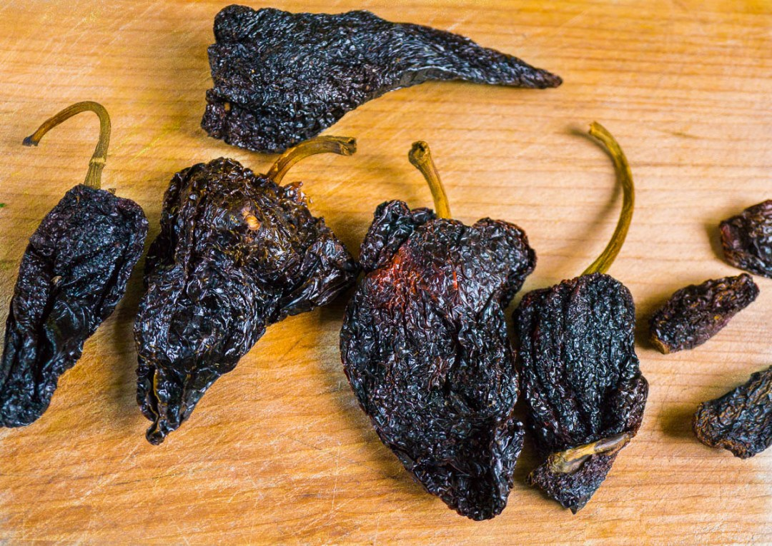 Ancho and Chipotle Chilies