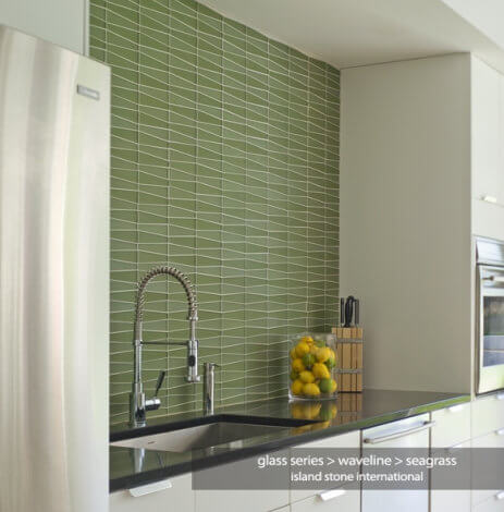 island stone glass byrd tile kitchens