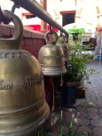 All temples have bells that monks ring during prayer