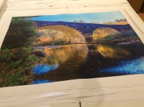 Bridge with Reflections Canvas