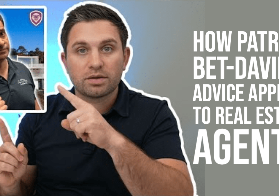 real estate advice from Patrick Bet-David