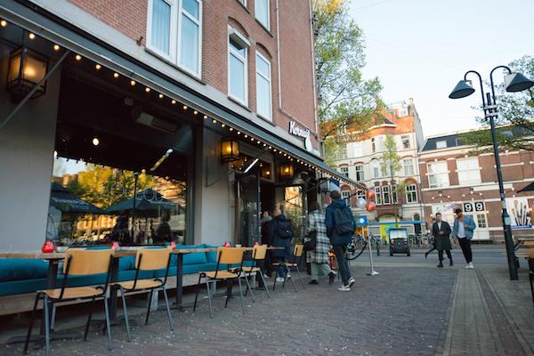 Bar LOULOU Amsterdam terras